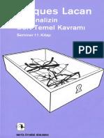 Jacques Lacan-Psikanalizin Dört Temel Kavramı.pdf