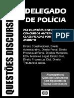 01#APOSTILA 240 QUESTÕES DISCURSIVAS DELEGADO DE POLÍCIA 2015 2016 #concursadopublico.blogspot.com.br.pdf