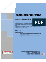 Machinery Directive 2006-42-EC+ cover
