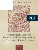 Clive Griffin Journeymen-Printers, Heresy, And the Inquisition in Sixteenth-Century Spain 2005