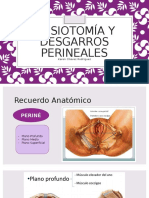 Episiotomía y Desgarros Perineales