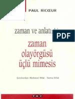 Paul Ricoeur-Zaman ve Anlatı 1.pdf