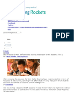best practice for rti  differentiated reading instruction for all students  tier 1    reading rockets