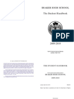 0910 Student Handbook