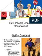 how people choose occupations