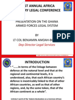 Ghana_Africa Military Legal Conference 2010