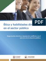 Módulo 3. Negociación Efectiva y Manejo de Conflictos en El Ejercicio de La Función Pública