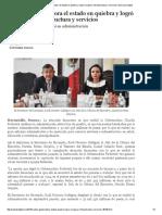 01/09/16 Recibió Gobernadora El Estado en Quiebra y Logró Recuperar Infraestructura y Servicios - San Luis Digital