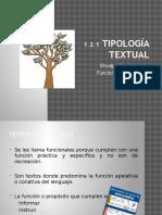 2.- Tipología Textual