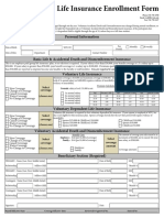 life insurance enrollment form
