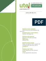 Mapa Conceptual de La Mezcla de Marketing de Servicios (8P's)