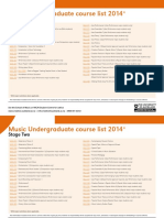 13 11 30 Music Course List 2014