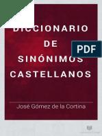 Diccionario Sinonimos Castellanos