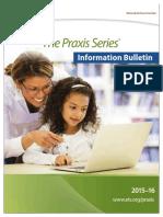 Praxis Information Bulletin