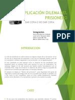 Aplicación Dilema Del Prisionero