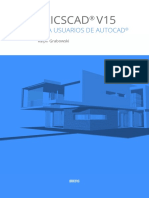 BricsCAD V15 For AutoCAD users Es