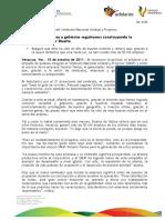 """15 10 2011 - El gobernador Javier Duarte de Ochoa asistió a la Celebración del 21 Aniversario del Sindicato Nacional """"Unidad y Progreso"""" (SNUP)."""