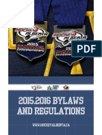 1 - 2015-2016 Hockey Alberta Bylaws and Regulations