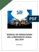 Manual de operaciones SITP