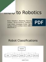Introduction to Robotics1