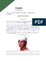 Heróes Del Perú
