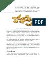 Sobre o Ouro