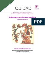 Gobernanza y Cultura Democratica