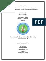 admin law final project