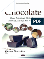 Chocolate Cocoa Byproducts Technology