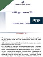 Diálogo Com o TCU. BAETA
