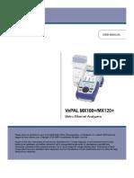 Tester MX100/120 Manual