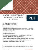 Hasta Un Pueblo de Demonios - Adela Cortina