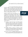 History of Es Land Bilingual Education
