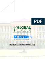 AIESEC UGM Member Application Package