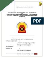 IMFORME Reemplazo de Equipo Araujo Saravia