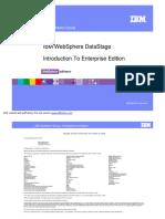 IBM WebSphere DataStage Introduction to Enterprise Edition