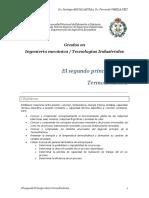 Tema 7. El Segundo Principio de La Termodinámica