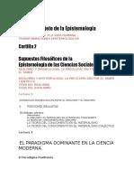 evaluación epistemologia