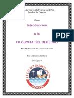 Materiales de Lectura 1 - Introducción a la Filosofia del Derecho - Fernando de Trazegnies Granda