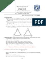 Examen Final de electromagnetismo
