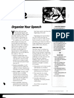 BCLP Speech 2 - Organize Your Speech