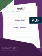 Unidad 2. Matrices