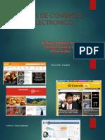 Comercio Electronico - Tipos
