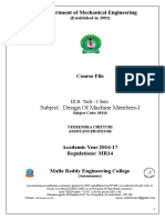 Dmm-i Course File 2015