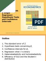 Econometrics Chapter 5 PPT slides
