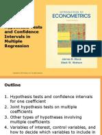 Econometrics Chapter 7 PPT slides