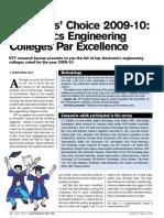 Engineering College Report 2010