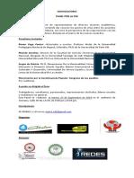 Panel Por La Paz y ETB