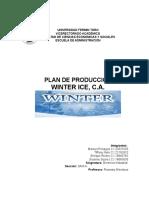 WINTER ICE, C.A.
