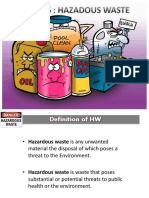 Topic 6 Hazardous Waste Management